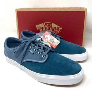 VANS Chima Ferguson Pro Suede Canvas Mirage Blue M